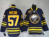 Buffalo Sabres #57 Tyler Myers Stitched Blue Third NHL Jersey