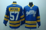 Buffalo Sabres #57 Tyler Myers Stitched Light Blue 2010 New Third 50TH NHL Jersey