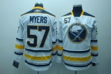 Buffalo Sabres #57 Tyler Myers Stitched White Third NHL Jersey