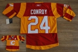 Calgary Flames #24 Craig Conroy Stitched Red Orange 2011 Winter Classic NHL Jersey