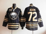 Buffalo Sabres #72 Luke Adam Navy Blue Home Stitched NHL Jersey