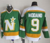 Dallas Stars #9 Mike Modano Stitched Green CCM Throwback NHL Jersey