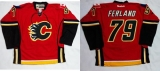Calgary Flames #79 Michael Ferland Red Home Stitched NHL Jersey