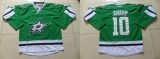 Dallas Stars #10 Patrick Sharp Green Stitched NHL Jersey