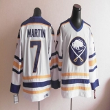 CCM Throwback Buffalo Sabres #7 Martin White Stitched NHL Jersey