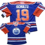 Edmonton Oilers #19 Justin Schultz Light Blue Home Stitched NHL Jersey