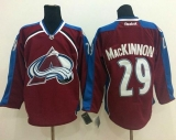 Colorado Avalanche #29 Nathan MacKinnon Red Home Stitched NHL Jersey