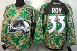 Colorado Avalanche #33 Patrick Roy Camo Veterans Day Practice Stitched NHL Jersey