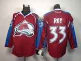 Colorado Avalanche #33 Patrick Roy Red Home Stitched NHL Jersey