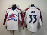 Colorado Avalanche #33 Patrick Roy White Stitched NHL Jersey