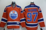 Edmonton Oilers #97 Connor McDavid Orange Stitched NHL Jersey