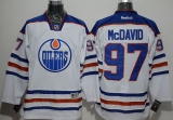Edmonton Oilers #97 Connor McDavid White Stitched NHL Jersey