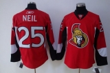 Ottawa Senators #25 Chris Neil Stitched Red NHL Jersey