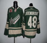Minnesota Wild #48 Latendresse Green With 10TH Patch Stitched NHL Jersey