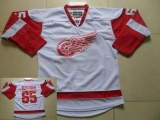 Detroit Red Wings #65 Danny DeKeyser White Stitched NHL Jersey