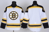 Boston Bruins Blank White Stitched NHL Jersey
