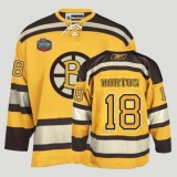 Boston Bruins Chris Horton #18 Stitched Yellow Winter Classic NHL Jersey