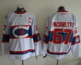 Montreal Canadiens #67 Max Pacioretty White 2016 Winter Classic Stitched NHL Jersey