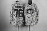 Montreal Canadiens #76 PK Subban Camo Stitched NHL Jersey
