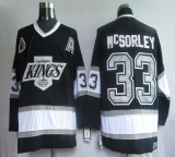 Los Angeles Kings #33 Martin McSorley Black CCM Throwback Stitched NHL Jersey