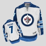 Winnipeg Jets #7 Keith Tkachuk Stitched White 2011 Style NHL Jersey