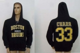 CCM Boston Bruins #33 Zdeno Chara Black Lace Up Hoodie