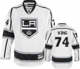 Los Angeles Kings #74 Dwight King White Road Stitched NHL Jersey