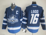 Winnipeg Jets #16 Andrew Ladd Dark Blue St