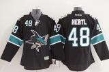 San Jose Sharks #48 Tomas Hertl Black Stitched NHL Jersey