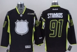 Tampa Bay Lightning #91 Steven Stamkos Black 2015 All Star Stitched NHL Jersey