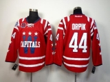 Washington Capitals #44 Brooks Orpik 2015 Winter Classic Red 40th Anniversary Stitched NHL Jersey