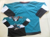 San Jose Sharks Blank Teal Black 2015 Stadium Series Stitched NHL Jersey