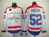 Washington Capitals #52 Mike Green White 2011 Winter Classic Vintage 40th Anniversary Stitched NHL Jersey