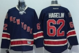 New York Rangers #62 Carl Hagelin Navy Blue Alternate Stitched NHL Jersey