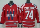 Washington Capitals #74 John Carlson 2015 Winter Classic Red Stitched NHL Jersey