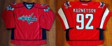 Washington Capitals #92 Evgeny Kuznetsov Red Home Stitched NHL Jersey