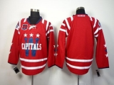 Washington Capitals Blank 2015 Winter Classic Red 40th Anniversary Stitched NHL Jersey