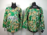Washington Capitals Blank Camo Veterans Day Practice Stitched NHL Jersey