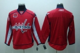Washington Capitals Blank Red 40th Anniversary Stitched NHL Jersey