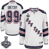 New York Rangers #99 Wayne Gretzky White 2014 Stadium Series With Stanley Cup Finals Stitched NHL Jersey