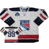 New York Rangers #99 Wayne Gretzky White Stitched CCM 2012 Winter Classic NHL Jersey