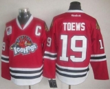 Chicago Blackhawks #19 Jonathan Toews Red Ice Hogs Stitched NHL Jersey