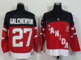Olympic CA 27 Alex Galchenyuk Red 100th Anniversary Stitched NHL Jersey