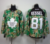 Toronto Maple Leafs #81 Phil Kessel Camo Veterans Day Practice Stitched NHL Jersey