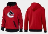 Vancouver Canucks Pullover Hoodie Red & Black