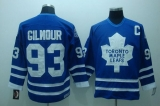 Toronto Maple Leafs #93 Doug Gilmour Stitched Blue CCM Throwback NHL Jersey