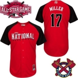 Atlanta Braves #17 Shelby Miller Red 2015 All-Star National League Stitched MLB Jersey