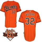 Baltimore Orioles #32 Matt Wieters Orange Cool Base Stitched MLB Jersey