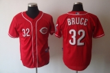 Cincinnati Reds #32 Jay Bruce Red Cool Base Stitched MLB Jersey