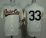 Baltimore Orioles #33 Eddie Murray Cream 1954 Turn Back The Clock Stitched MLB Jersey